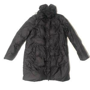 BCBG Winter Coat Long Size L Duck Down Filled
